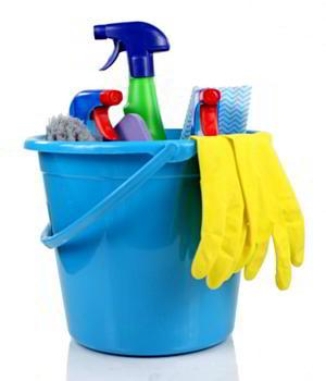 Schoonmaakspullen voor huishoudelijk werk